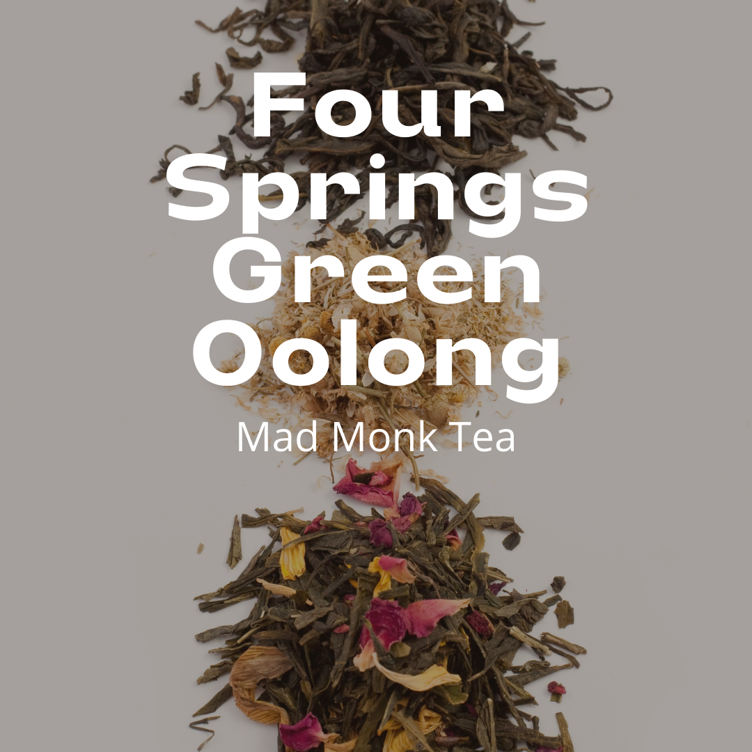 Four Springs Green Oolong (60g) Mad Monk Tea