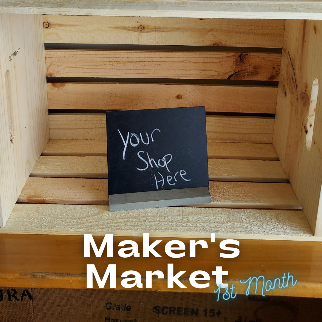 Protected: Maker's Market 1st Month Charge.